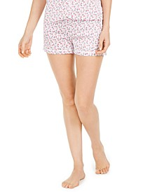 Floral-Print Sleep Shorts
