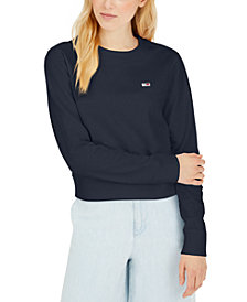 Tommy Jeans Flag Logo Graphic Sweatshirt