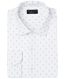 Men's Slim-Fit Geo-Print Dress Shirt, Created for Macy's