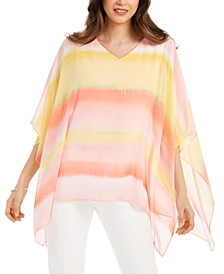 Petite Poncho Top, Created for Macy's