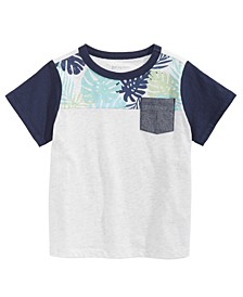 Baby Boys Tropical Colorblocked T-Shirt, Created for Macy's