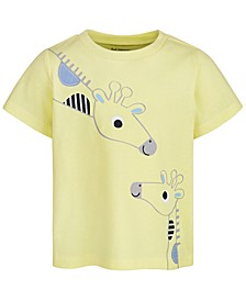 Baby Boys Giraffe Graphic T-Shirt, Created For Macy's