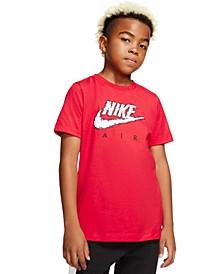 Big Boys Cloud-Print Cotton T-Shirt