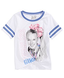 Evy of California Big Girls JoJo Siwa Fearless T-Shirt