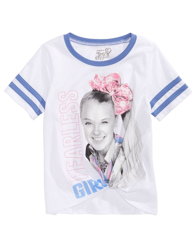 Disney Evy of California Big Girls JoJo Siwa Fearless T-Shirt