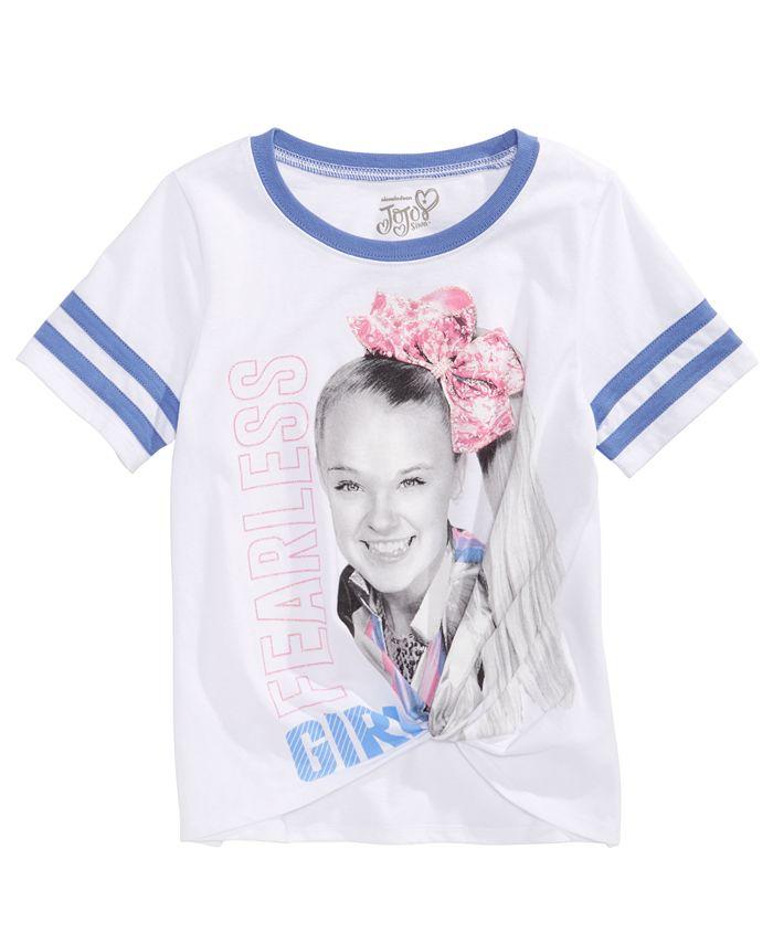 Disney - Big Girls JoJo Siwa Fearless T-Shirt