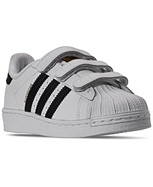 Little Boy's Superstar Stay-Put Closure Casual Sneakers from Finish Line