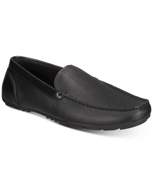 Alfani Men's Aldrich Textured Drivers, Created for Macy's
