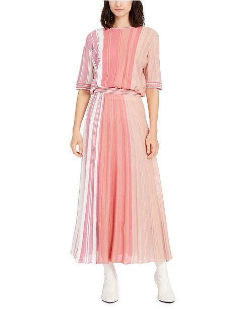 Marella Striped Sweater Dress