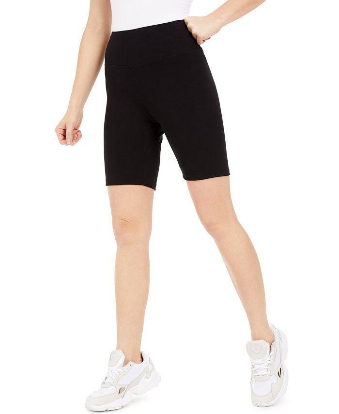 Bar III - Bodycon Biker Shorts