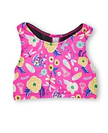 Little and Big Girls Dragonfly Sports Bra