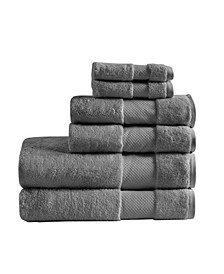 Signature 100% Turkish Cotton 6-Pc. Towel Set