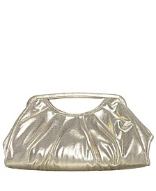 Dakota Pleated Top Handle Clutch