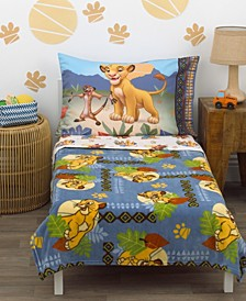 Lion King Totally Tribal 4-Piece Toddler Bedding Set