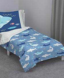 Shark 4-Piece Toddler Bedding Set