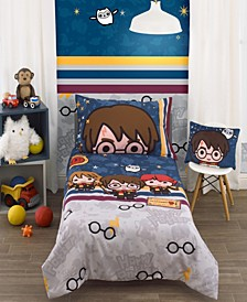 Harry Potter Wizards In Training 4-Piece Toddler Bedding Set