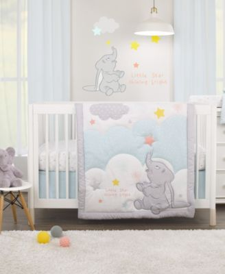 Disney Dumbo 3-Piece Crib Bedding Set
