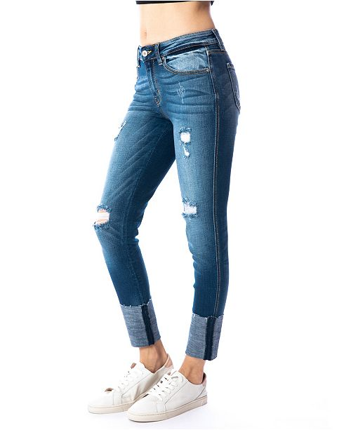 Kancan Mid Rise C&H Ankle Skinny & Reviews - Jeans ...