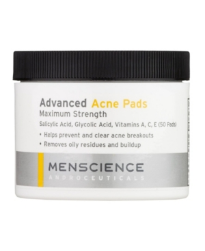 Advanced Acne Pads Face and Body For Men- 50 Pads