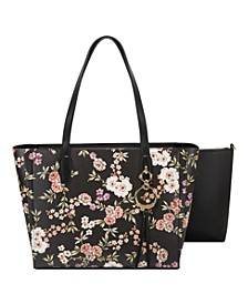 Ring Leader Floral Tote