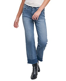 Lanark Crop Wide-Leg Jeans