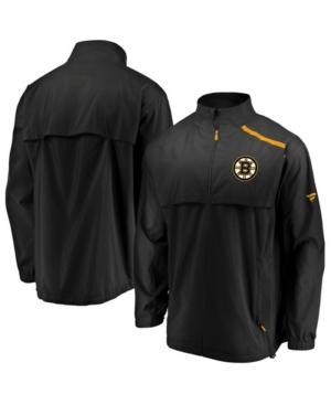 Men's Boston Bruins Authentic Pro Rinkside Jacket