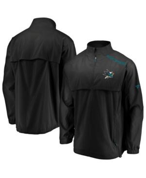 Men's San Jose Sharks Authentic Pro Rinkside Jacket