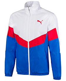 Men's Colorblocked Windbreaker