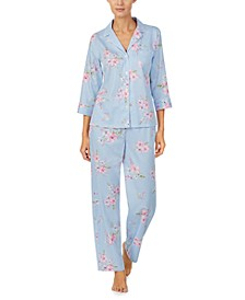 Printed Pajama Set
