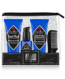 4-Pc. Beard Grooming Set
