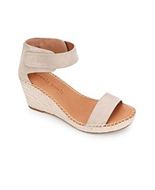 by Kenneth Cole Charli Ankle Strap Wedge Sandals