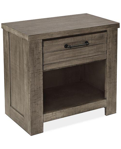 Furniture Ruff Hewn Nightstand