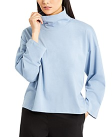 Organic Funnel-Neck Top, Created for Macy's