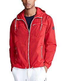 Men's Packable Hooded Jacket
