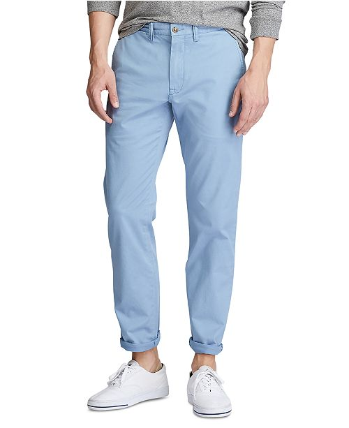 Polo Ralph Lauren Men's Stretch Straight-Fit Chino