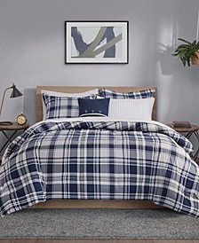 Patrick Reversible 8-Piece Cal King Bedding Set