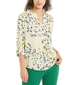 Maria Floral-Print Blouse, Created for