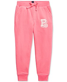 Little Girls French Terry Graphic Joggers