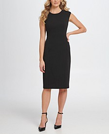 S/L Sheath with Shoulder Detail