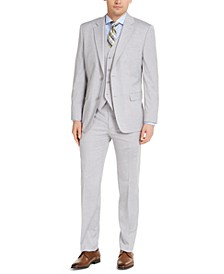 Men's Classic-Fit Stretch Solid Suit Separates, Created for Macy's