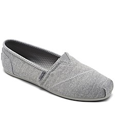 Women's BOBS Plush Express Yourself Casual Flats from Finish Line