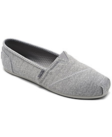 Skechers Women's BOBS Plush Express Yourself Casual Flats from Finish Line