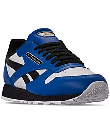 Men's Classic Leather MU Casual Sneakers from Finish Line