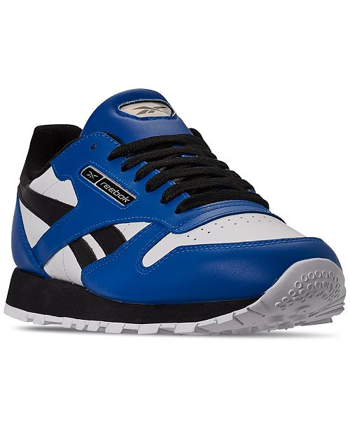 Reebok Men's Classic Leather MU Casual Sneakers from Finish Line