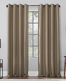Linen Blend Blackout Curtain Collection