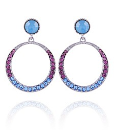 Extra Celestial Front Facing Hoop Earrings