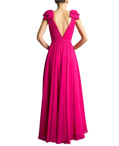 Basix Black Label Surplice Slit Gown & Reviews
