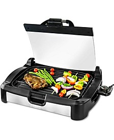 Reversible Electric, Grill and Griddle, Free Non-Stick Skillet