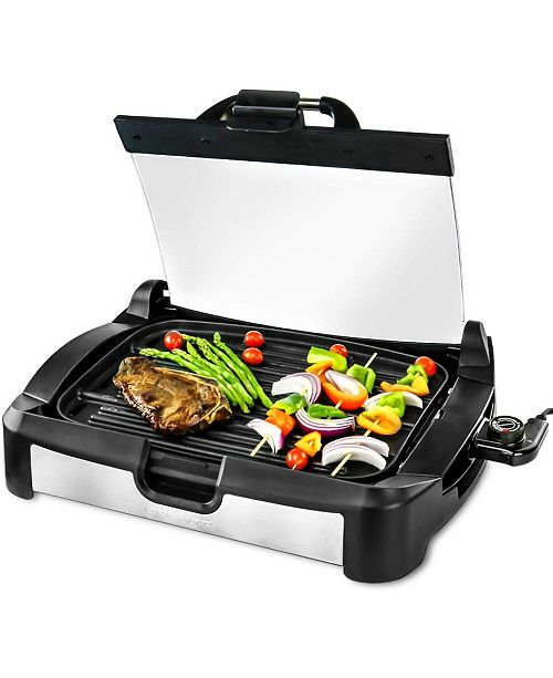 OVENTE Reversible Electric, Grill and Griddle, Free Non-Stick Skillet