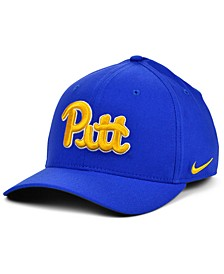 Pittsburgh Panthers Classic Swoosh Stretch Fitted Cap
